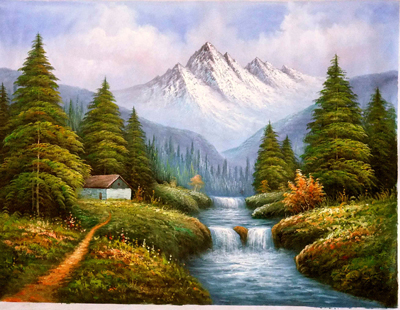 Landscape Painting Images on Oil Paintings Showing Landscape Art For Sale