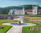 Scottish art painting of Balmoral Castle by Peter Hunter