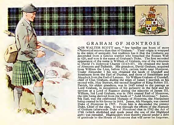 Clan Graham, their Castle and information